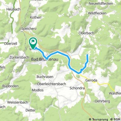 Volkers nach Würzburger Hütte