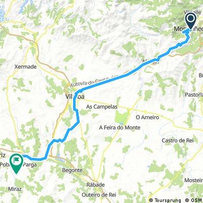 18. Etappe CdN Mondoñedo - Guitiritz