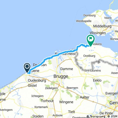 Day 1 : Ostende - Groede