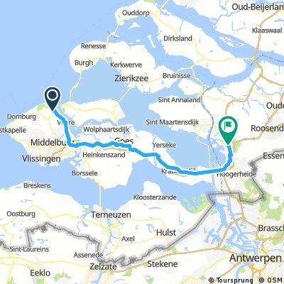 Day 3 :  Vrouwenpolder - Bergen op Zoom