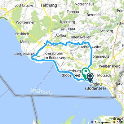 Route mit Rolli und Gitte