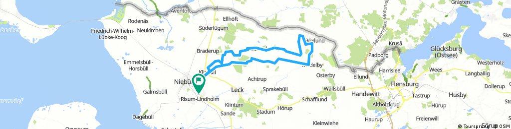 Lindholm - Medelby - Ladelund - Lindholm