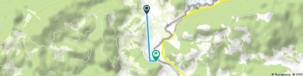 Brief ride through Podčetrtek