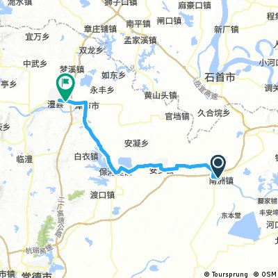 Stage 2 - China: Nanxian to Lixian