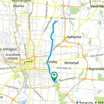 Lengthy ride from Pastviny to Columbus