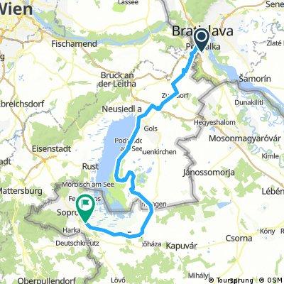 Okolo jazera Neusiedler See