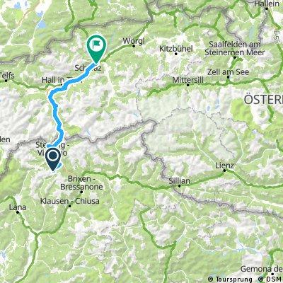 TOUR 5 Tage Hüttentour mit dem Rad