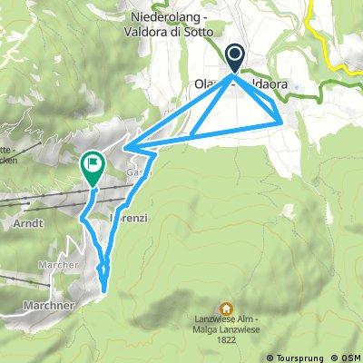 olang-gassl-bad bergfall - geiselsberg