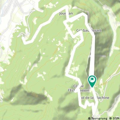 U96 2016 Etappe1 (Busfahrer): Route du Combe Laval