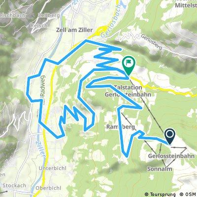 Mayrhofen: Gerlossteinbahn - Hainzenberg