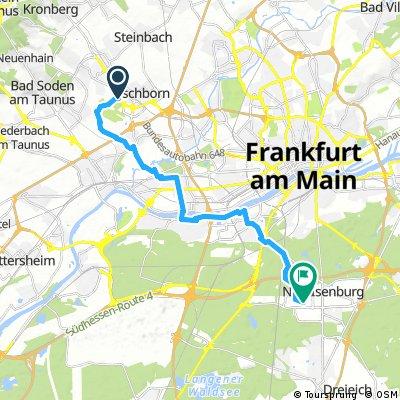Eschborn nach Neu Isenburg