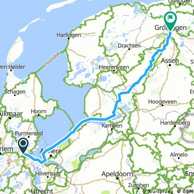 Naar Groningen!