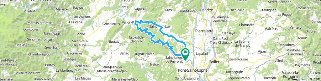 Pont-St.-Esprit - Ardeche - Valon-Pont-d'Arc