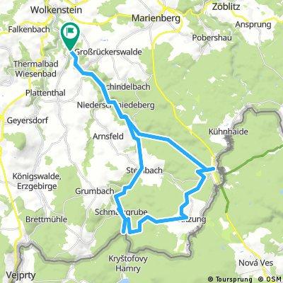 Hirtstein, Haselbachtal , Preßnitztal