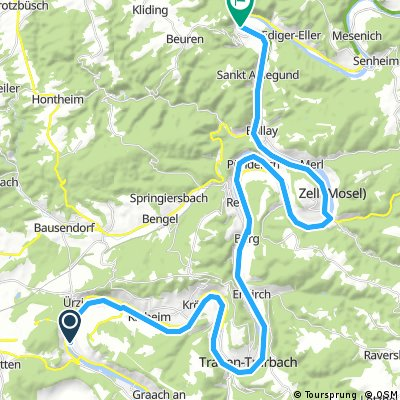 Saar Mosel Tag 4 Zeltingen-Rachting - Bremm