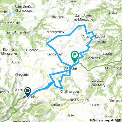 Auvergne, Plateau du Nord, Strecke 3