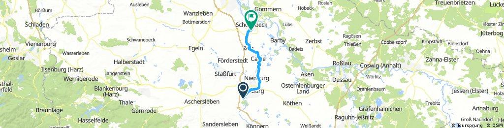 Gröna - Schönebeck