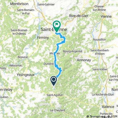 2016 Ride Day 140 - Devesset to Saint-Etienne