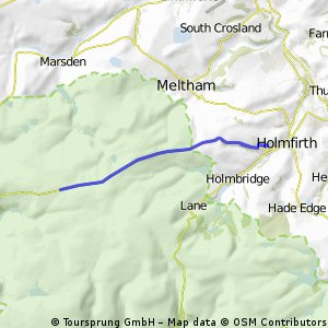 Home to Saddlewoth Moor and back