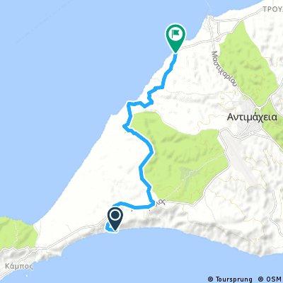 Kos 13km 140 hm Sunny beach tot bos ri zee