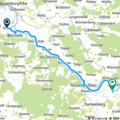 Elberadweg 06 Garze - Damnatz