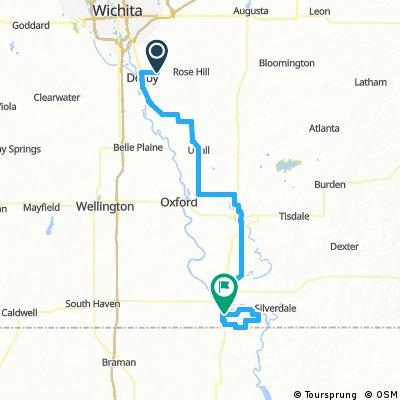 Tour of Kansas Stage 1: Derby-Arkansas City