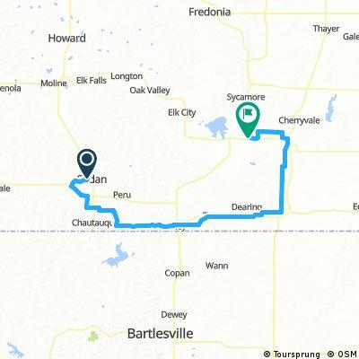 Tour of Kansas Stage 3- Sedan-Independence