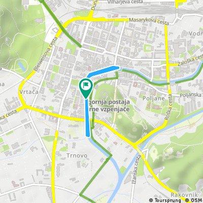 SUP sprint Ljubljana