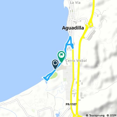 Short ride from Victoria to Aguadilla