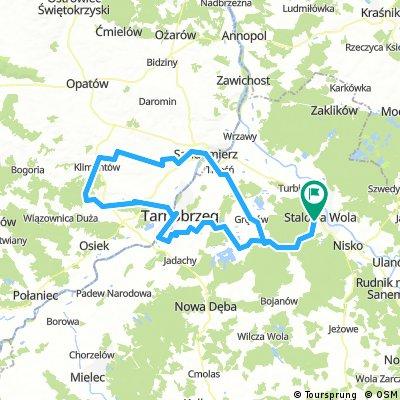 Stalowa Wola-Tarnobrzeg-Rybnica-Sandomierz-Stalowa Wola