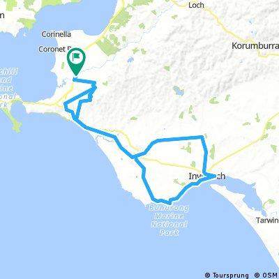 Bass to Inverloch camping tour