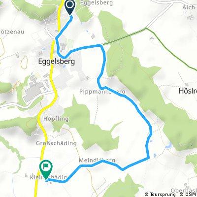 Kurze Ausfahrt durch Eggelsberg