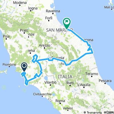Coast to Coast Italia Centrale