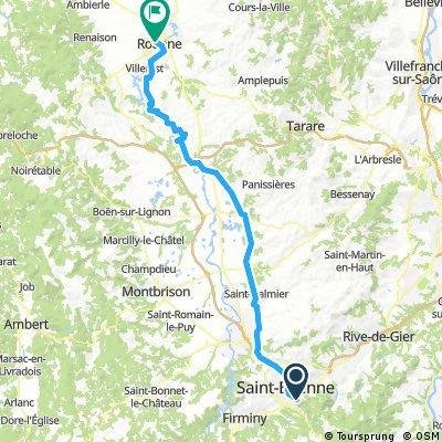2016 Ride Day 141 - Saint-Etienne to Roanne