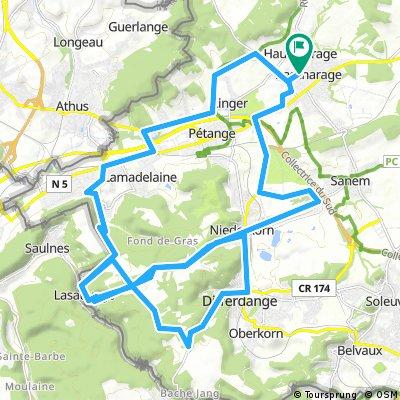 Bascharage Maus Zoowaasch Col de l'Europe