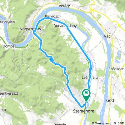 Duna-kanyar  szombat - Pilisjáróval