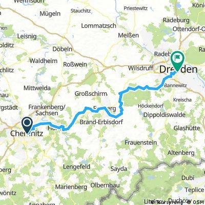 Chemnitz - Dresden