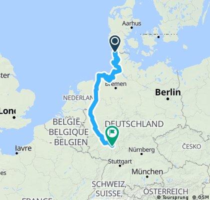Leck Nordsee 1133,27KM 860 Hm