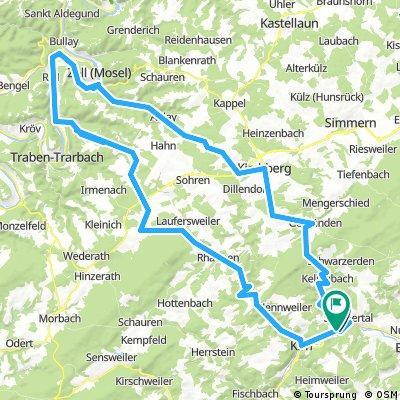 Moseltour 120km von Hochstetten-Dhaun