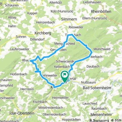 Ellerspring Tour 68,66 von Hochstetten