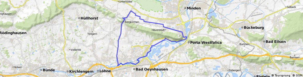 Porta - Bad Oeynhausen - Rothenuffeln
