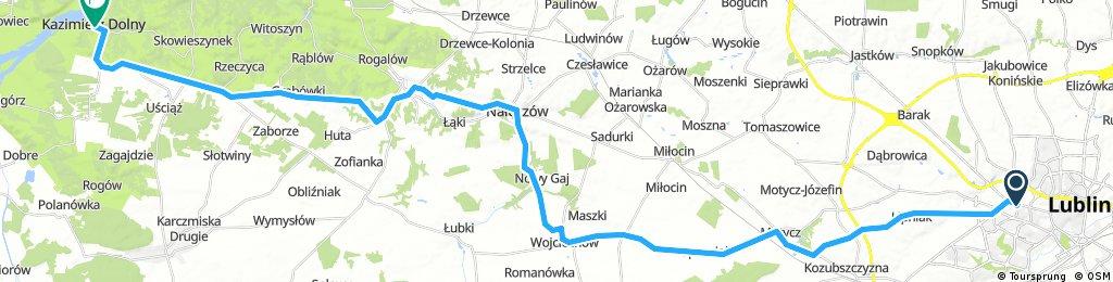 Lublin - Naleczow - Kazimierz
