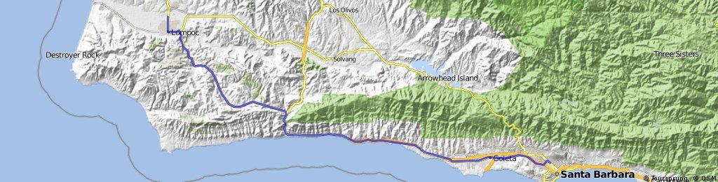 12 Lompoc - Santa Barbara