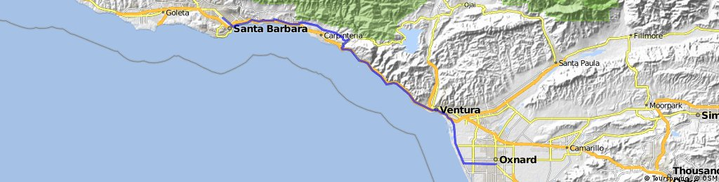 13 Santa Barbara - Oxnard