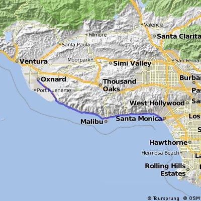14 Oxnard - Santa Monica