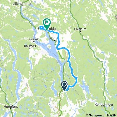 Tour of Norway 2017 Alternativ 2 Stange