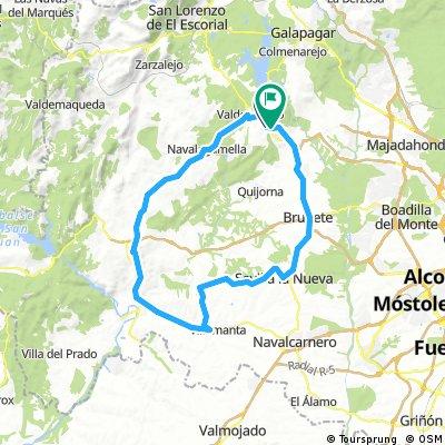Valdemorillo (74km)