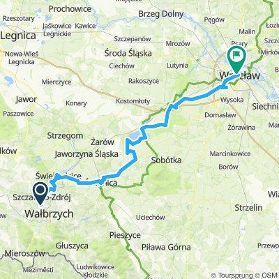 Wałbrzych - Wrocław