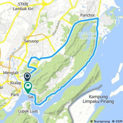 Long Ride Through The Kota Batu Road