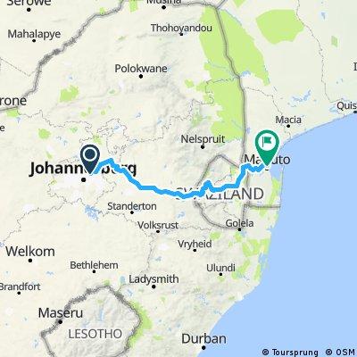 SA_Johannesburg - Maputo